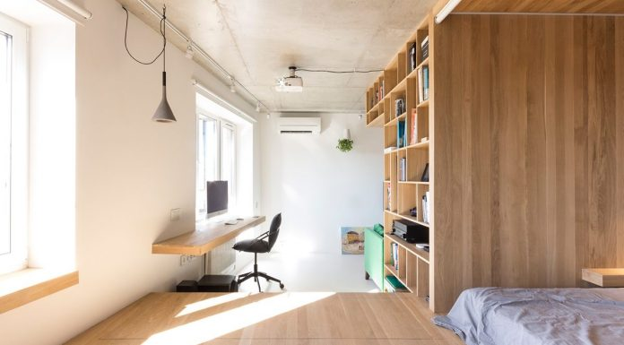 Modern In Feel And Urban Japanese In Decor Small 43 Sqm Studio